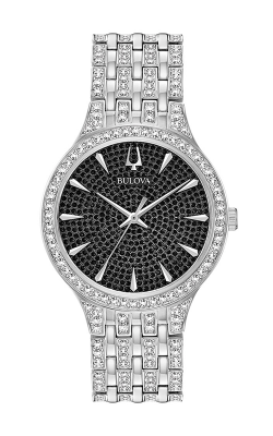 Bulova Crystal Watch 96A227