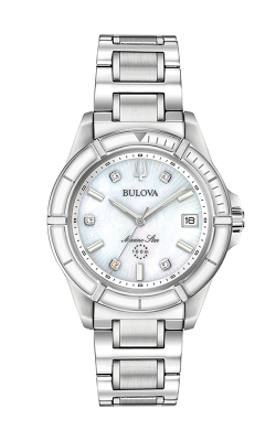 Bulova Diamond Watch 96P201