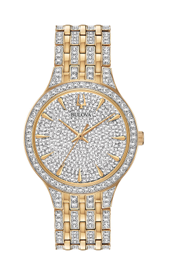Bulova Crystal Watch 98A229
