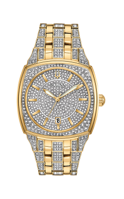 Bulova Crystal Watch 98B323