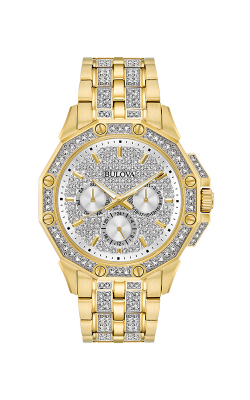 Bulova Crystal Watch 98C126
