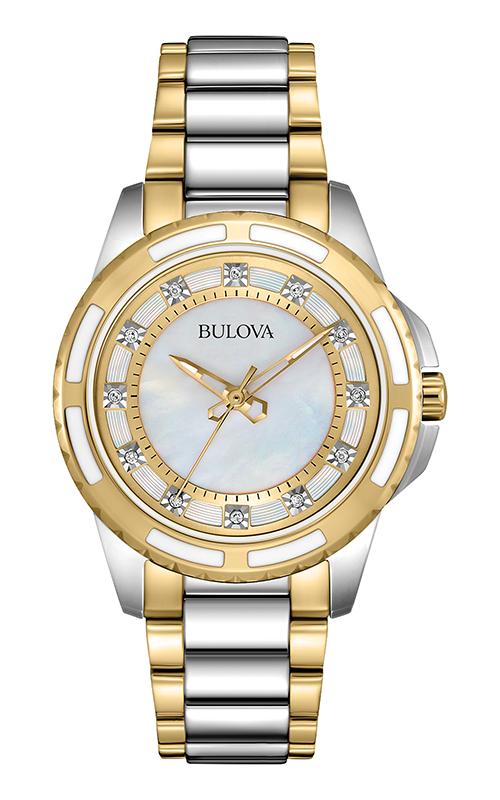 Bulova Diamond Watch 98P140 product image
