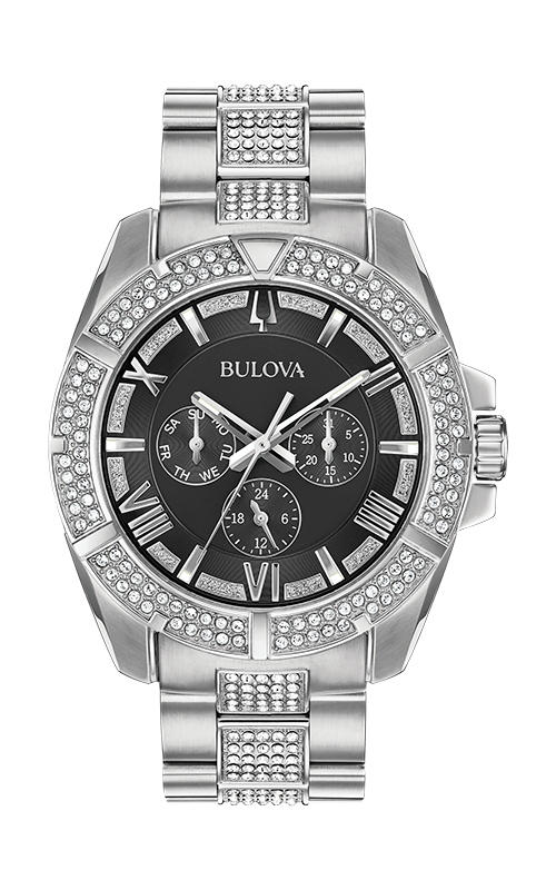 Bulova Crystal Watch 96C126 product image