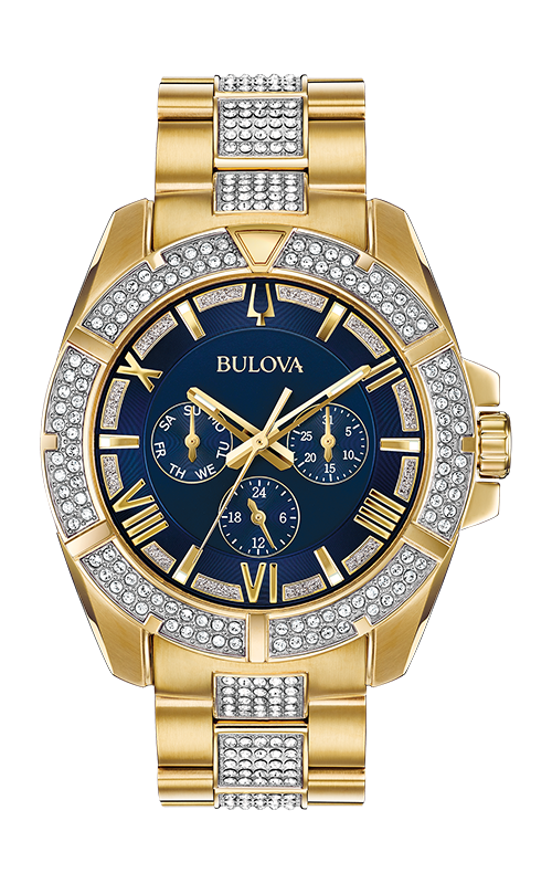 Bulova Crystal Watch 98C128 product image