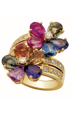 Bvlgari Sapphire Flower Fashion Ring AN853207 product image