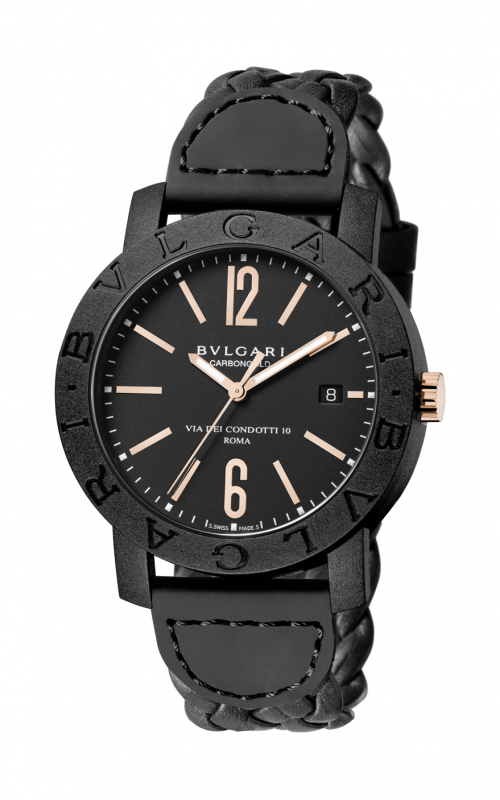 Bvlgari Bvlgari Carbon Gold Watch BBP40BCGLD N product image