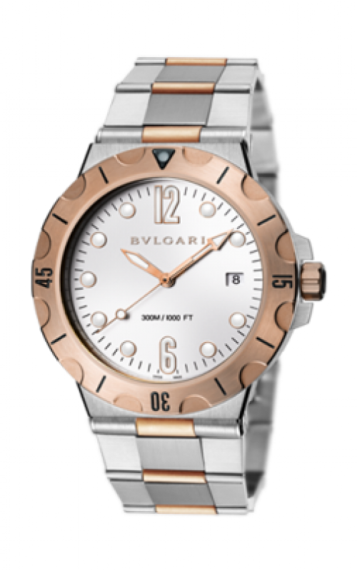Bvlgari Diagono Scuba Watch DP41WSPGSD product image