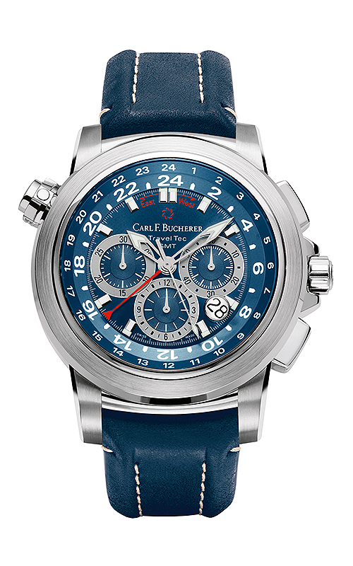Carl F Bucherer TravelTec Watch 00-10620-08-53-01 product image