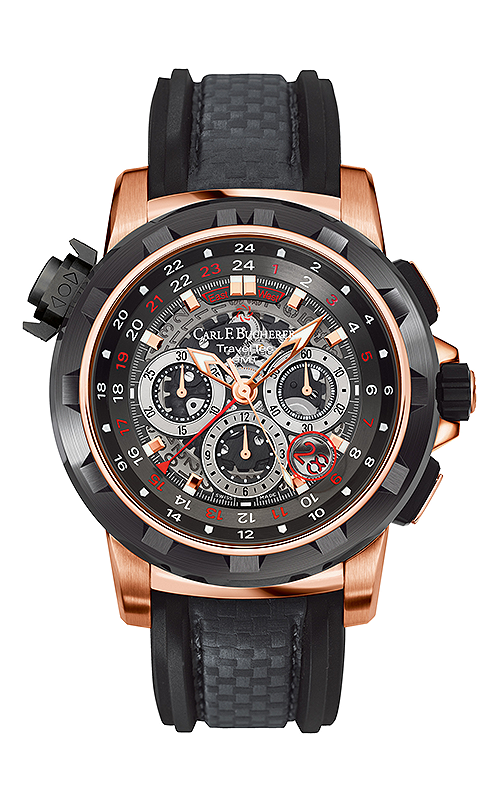 Carl F Bucherer TravelTec FourX Watch 00.10620.22.93.01 product image