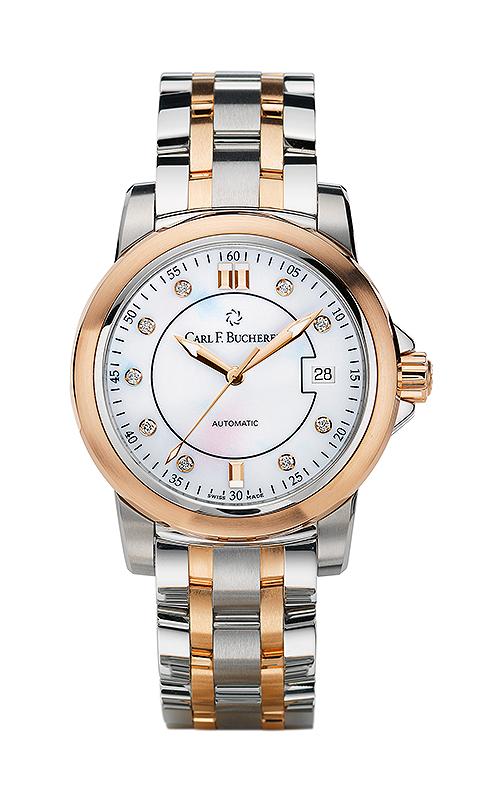 Carl F Bucherer AutoDate TwoTone Watch 00.10617.07.77.21 product image