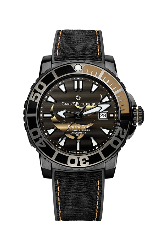 Carl F Bucherer ScubaTec Watch 00.10632.28.33.99 product image