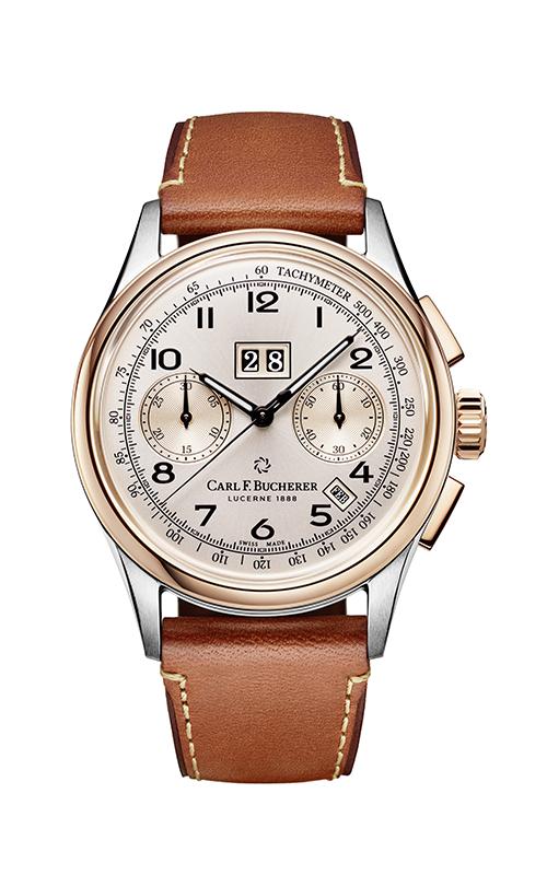 Carl F. Bucherer Heritage BiCompax Watch 00.10803.07.42.01 product image