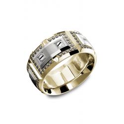 Carlex G2 Wedding Band WB-9851WYBD product image