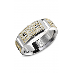 Carlex G2 Wedding Band WB-9585YW product image