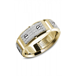 Carlex G2 Wedding Band WB-9585WY product image