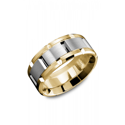 Carlex G1 Wedding band WB-9167WY product image