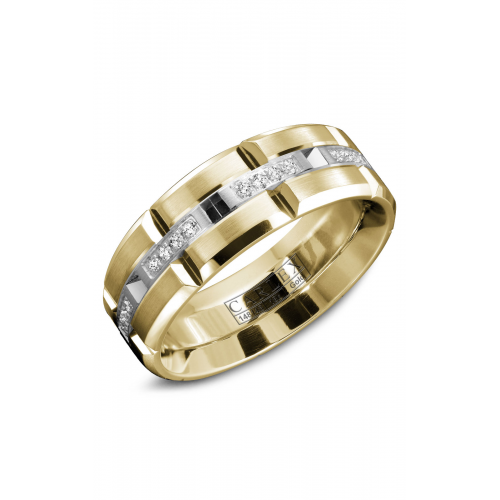 Carlex G1 Wedding band WB-9320WY product image
