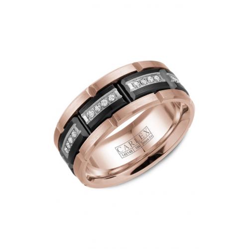 Carlex Sport Wedding band WB-9490BR product image