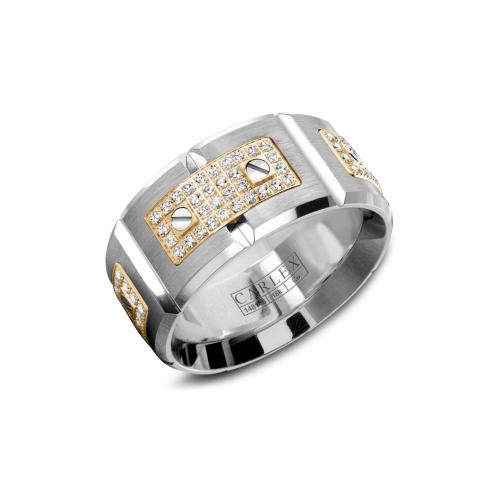 Carlex Sport Wedding band WB-9796YC product image