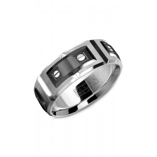 Carlex Sport Wedding band WB-9854BW product image