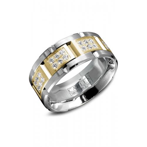 Carlex G1 Wedding band WB-9155YW product image