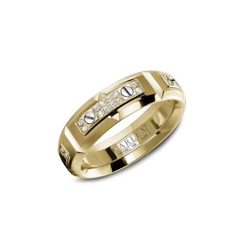 Carlex G2 Wedding band WB-9587YY product image