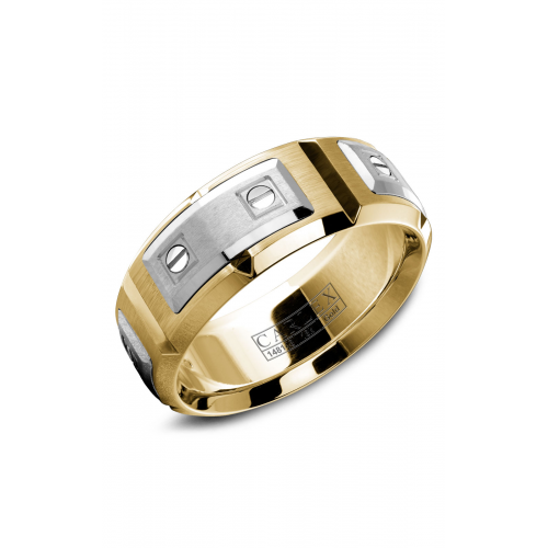 Carlex G2 Wedding band WB-9852WY product image