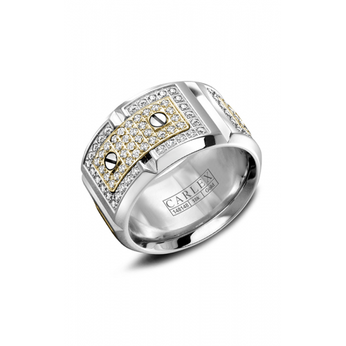 Carlex G2 Wedding band WB-9895YW product image