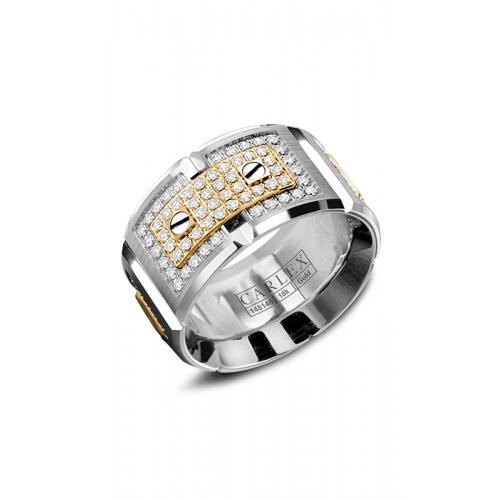 Carlex G2 Wedding band WB-9896YW product image