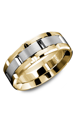 Carlex G1 Wedding Band WB-9316WY product image