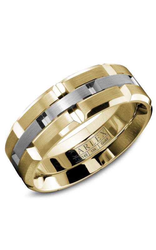 Carlex G1 Men's Wedding Band WB-9146WY product image