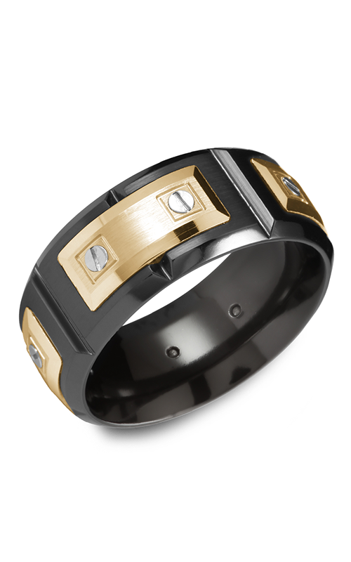 Carlex Sport Men's Wedding Band WB-9854YB product image