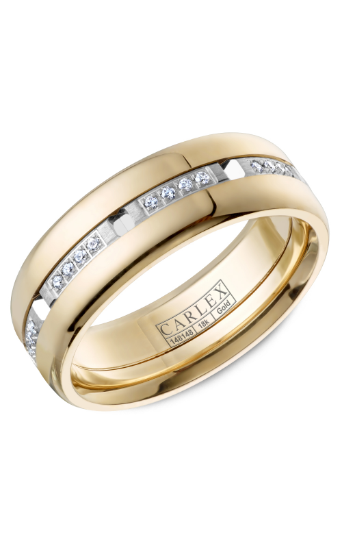 Carlex G1 Men's Wedding Band CX1-0004WY product image