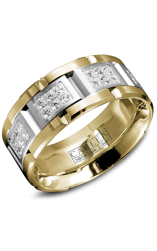 Carlex G1 Men's Wedding Band WB-9155WY product image