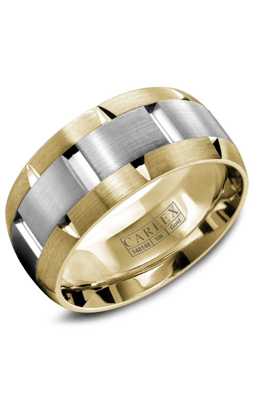 Carlex G1 Men's Wedding Band WB-9463WY product image