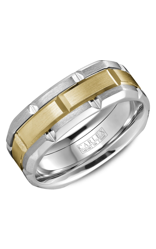 Carlex G1 Men's Wedding Band CX1-0002YW product image