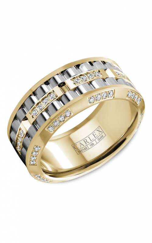 Carlex G3 Men's Wedding Band CX3-0025YWY product image