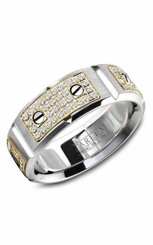 Carlex Sport Men's Wedding Band WB-9585YC product image