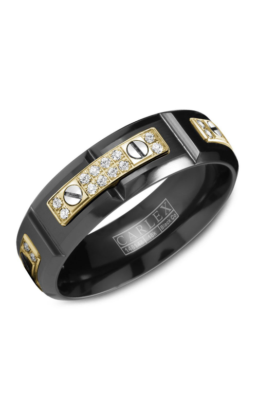 Carlex Sport Men's Wedding Band WB-9587YB product image
