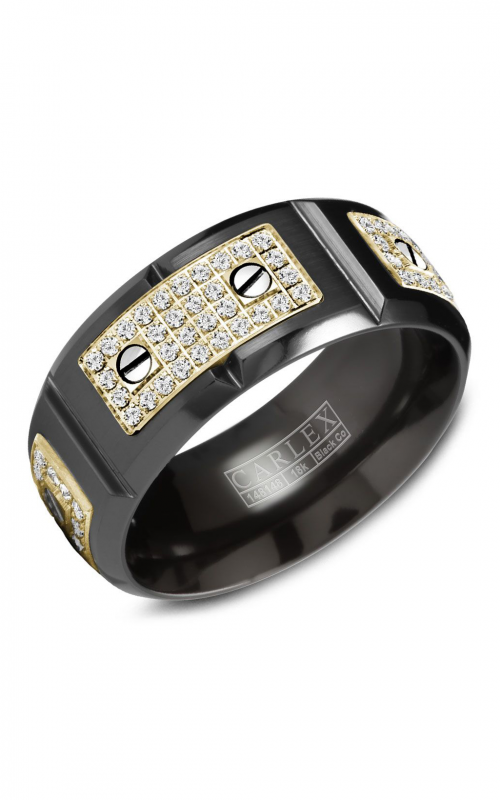 Carlex Sport Men's Wedding Band WB-9792YB product image