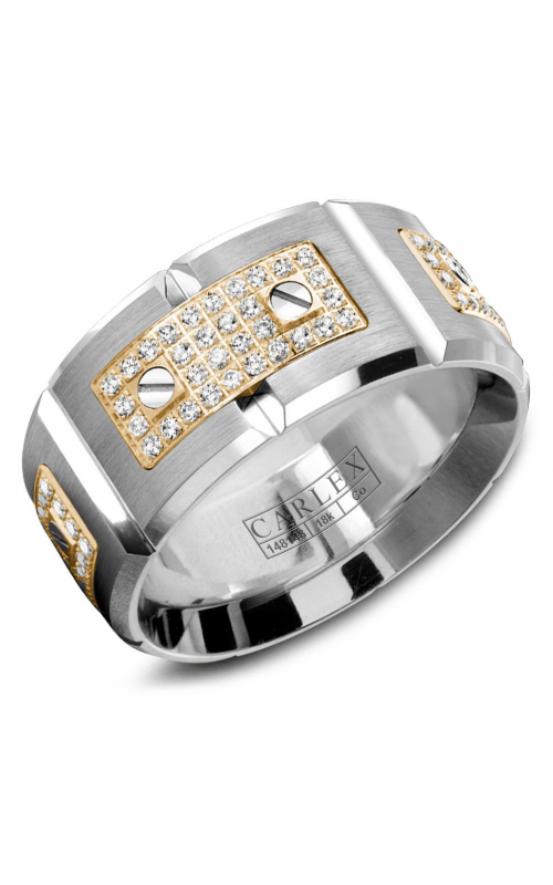 Carlex Sport Men's Wedding Band WB-9796YC product image