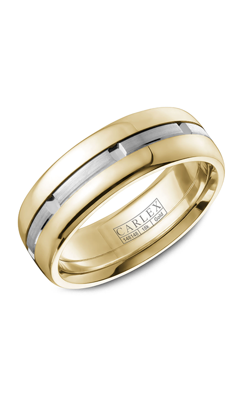 Carlex G1 Men's Wedding Band CX1-0003WY product image