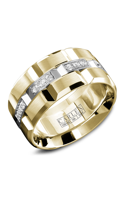 Carlex G1 Men's Wedding Band WB-9166WY product image