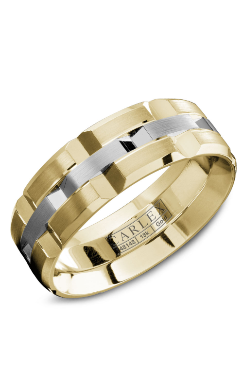 Carlex G1 Men's Wedding Band WB-9168WY product image