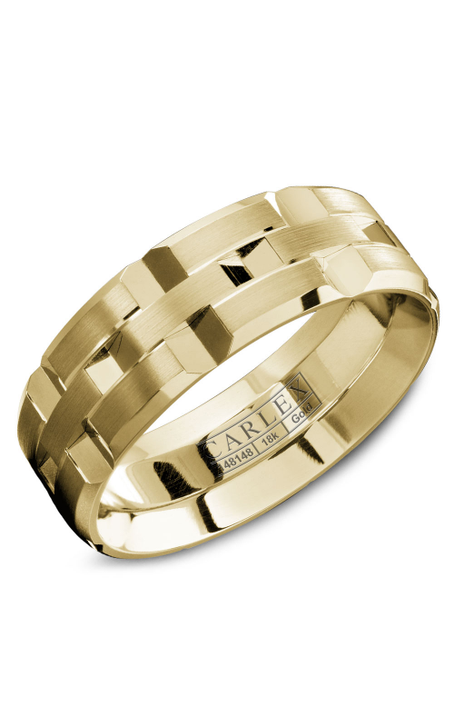 Carlex G1 Men's Wedding Band WB-9168Y product image