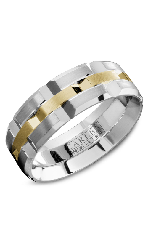 Carlex Wedding band G1 WB-9168YW product image