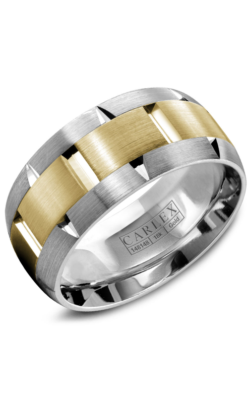 Carlex G1 Men's Wedding Band WB-9463YW product image