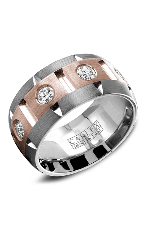 Carlex G1 Wedding band WB-9464RW-S product image