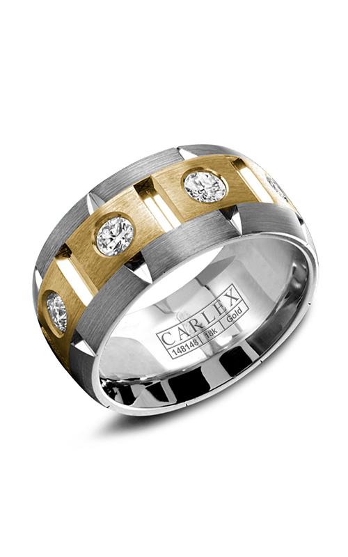 Carlex G1 Wedding band WB-9464YW-S6 product image