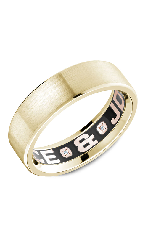 Carlex G4 Wedding band CX4-0001Y-S product image